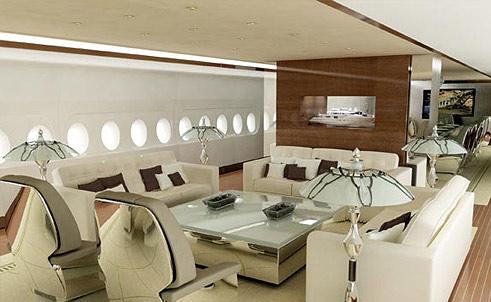 Exklusivt casino ombord på AirbusA380