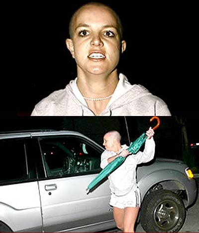 En rakad BritneySpears
