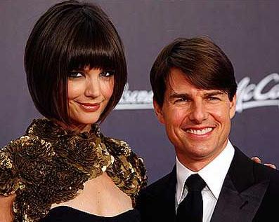 Tom Cruise och KatieHolmes