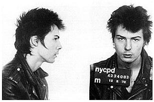 Sid Vicious från Sex Pistols