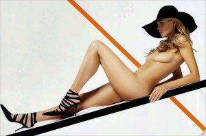 Heidi Klum naken