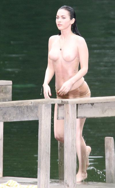 Megan Fox topless