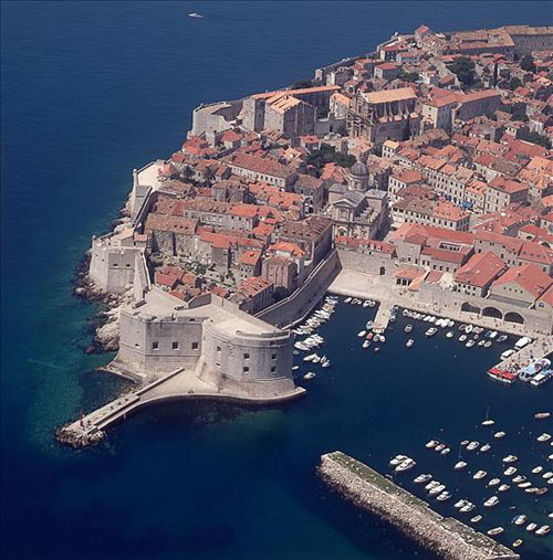 dubrovnik by cheap air fares/lågprisflyg