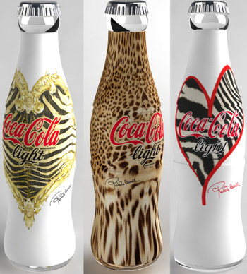 Triss i Coca Cola Light by Roberto Cavalli.