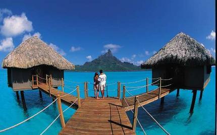 Bröllopsresa till Bora Bora och Tahiti