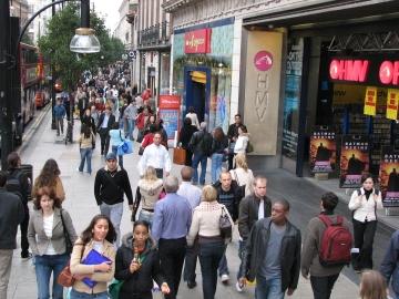 Shoppa i London och på Oxford Street.
