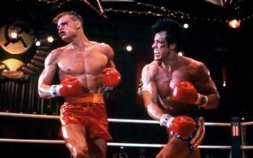 Dolph Lundgren vs Sylvester Stallone i Rocky IV från 1985