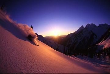 Alperna och torr snö är en livsstil.