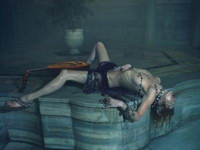 Kate Moss kan ligga