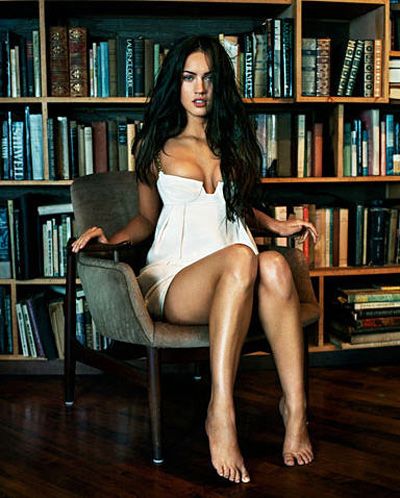 Megan Fox i Boktipset...
