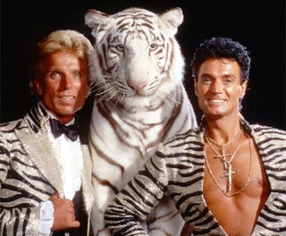 Siegfried & Roy och en förbannad tiger...