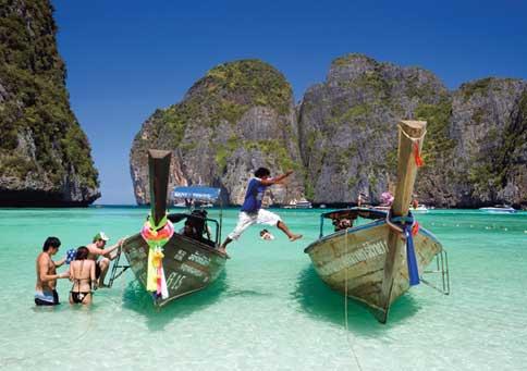 Öluffa i Thailand / Island jumping in Thailand