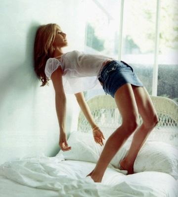 Jennifer Aniston inte alltid naken