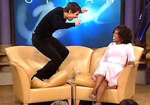Tom Cruise försöker få uppmärksamhet hos Oprah