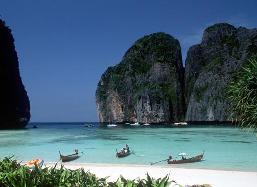 Lågprisflyg till Thailand och dess öar