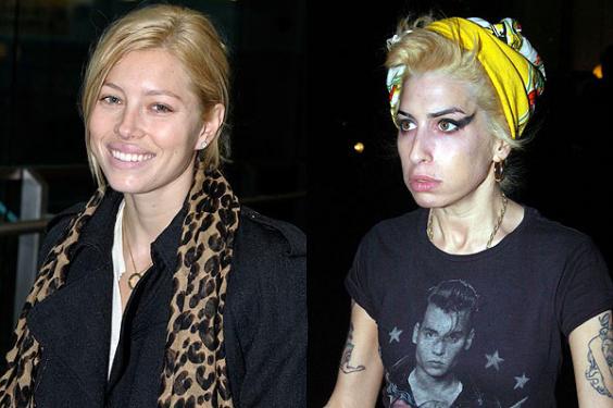Jessica Biel eller Amy Winhouse?