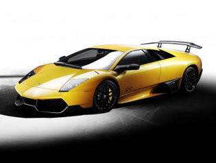 Lamborghini med extra allt