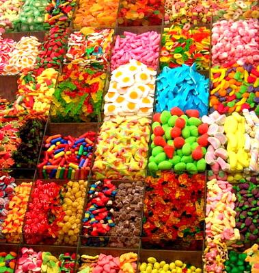 Gott godis, snask och sötsaker