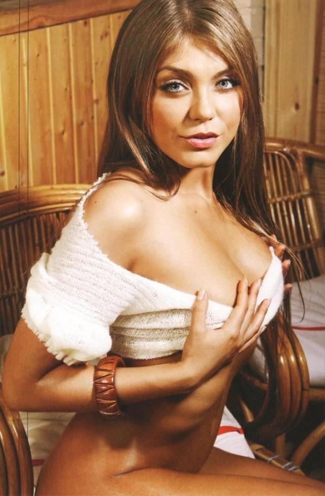 Den ryska fotomodellen Oksana Pochepa är god vän med Mel Gibson