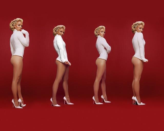 Sex kopior av Britney Spears... eller är det bara fyra...