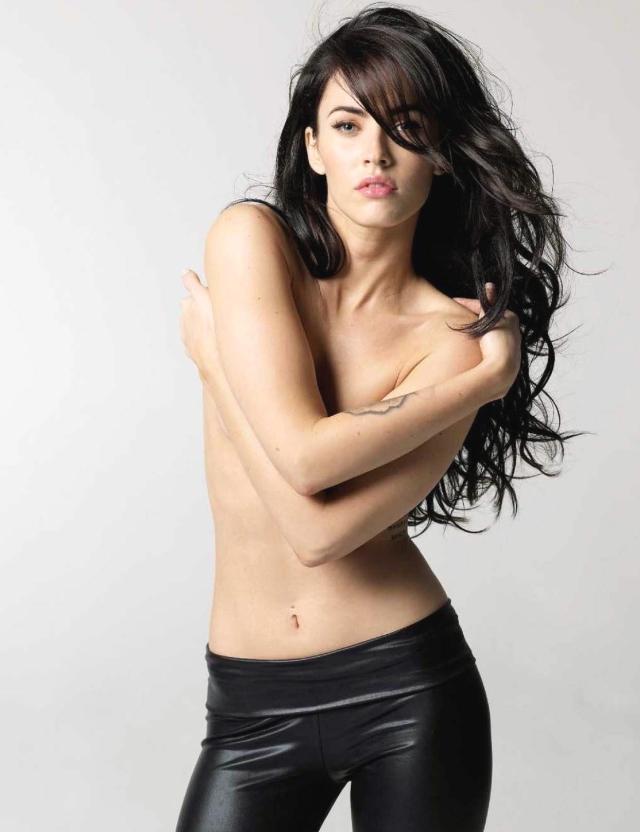 Megan Fox gör sig bra på bild