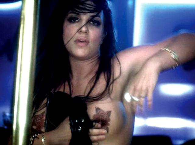 Ooops... nakenbilder på Britney Spears