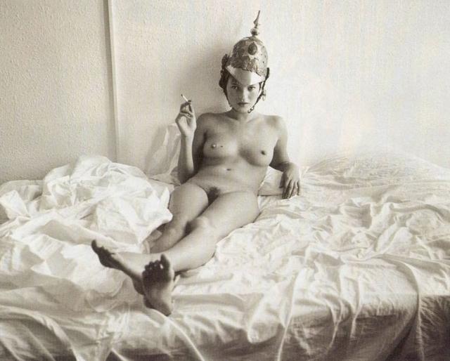 Kate Moss är ett levande konstverk...