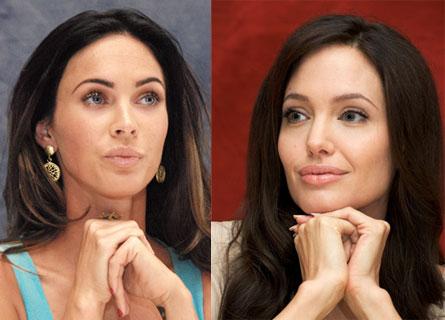 Megan Fox vs Angelina Jolie. Vem är sexigast?