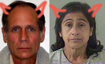 Phillip Garrido och Nancy Garrido är sjuka sexgalningar