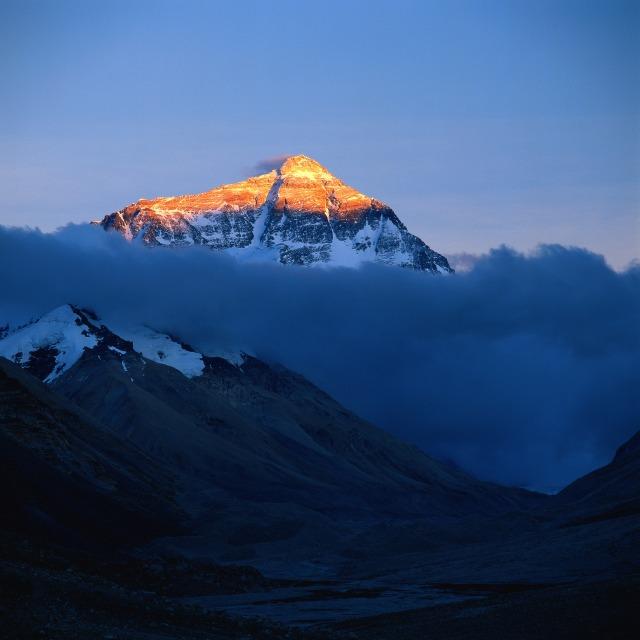 Mount Everest var Mikael Reuterswärd förste svensk att bestiga
