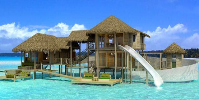 Six Senses på Maldiverna och ön Olhuveli