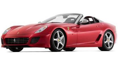 Läcker och ny Ferrari