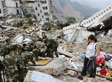 Kraften i en jordbävning är enorm