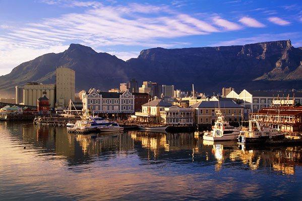 Kapstaden i Sydafrika är sagolikt